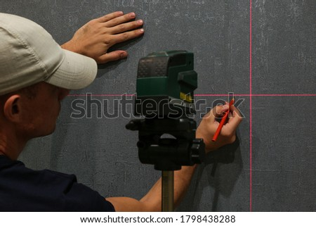 use of laser level in renovation