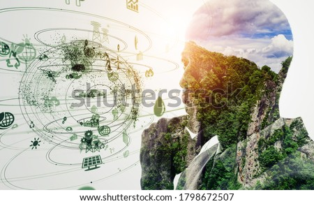 Environmental technology concept. Sustainable development goals. SDGs. Royalty-Free Stock Photo #1798672507