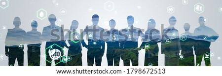 Environmental technology concept. Sustainable development goals. SDGs. Royalty-Free Stock Photo #1798672513