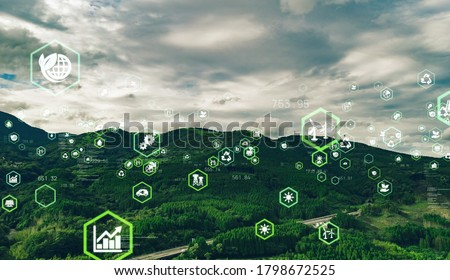 Environmental technology concept. Sustainable development goals. SDGs. Royalty-Free Stock Photo #1798672525