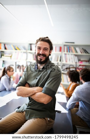 Business people, architects working in office. Teamwork success meeting workplace concept. Royalty-Free Stock Photo #1799498245