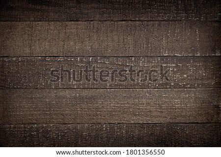 Old wood texture. Timber background with vignetting.