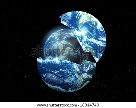 conceptual image about rebirthing the world #18014740