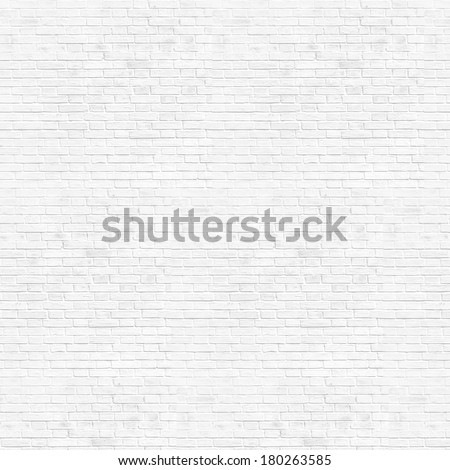 Abstract weathered high resolution texture old stucco light gray and aged paint white brick wall background in rural room, grungy blocks of stonework technology color horizontal architecture wallpaper #180263585
