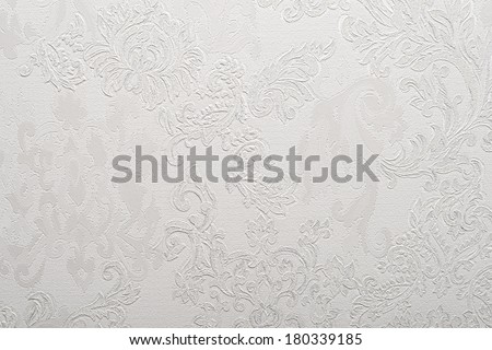 light gray baroque wallpaper background