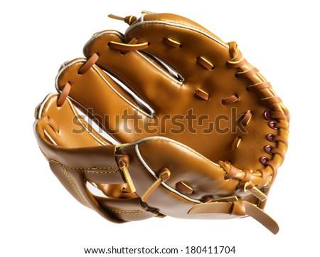 baseball mitt Royalty-Free Stock Photo #180411704
