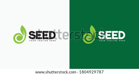 Logo design for the seed industry. Seed industry and farming logo. #1804929787