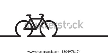 World Bicycle day or health day race tour. Sportc yclist banner, or card. Cycling icon. Vector bike signs. Sports symbol. Cartoon cycling logo. Trafel, happy family holliday. Mountain biker, climbing