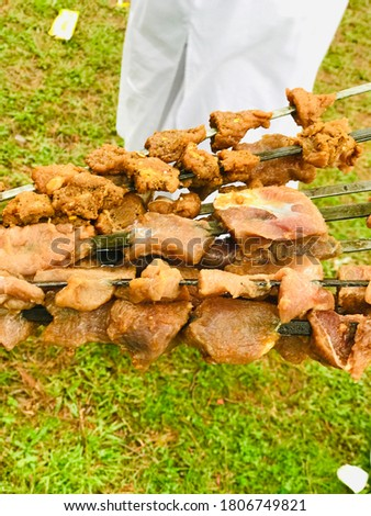 Beautiful picture of Pakistani Foods - BBQ picture
