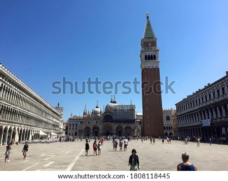 the marcus place in venice at summer #1808118445