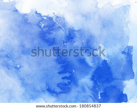 colorful watercolor background for your design.painting on paper from my originals   #180854837