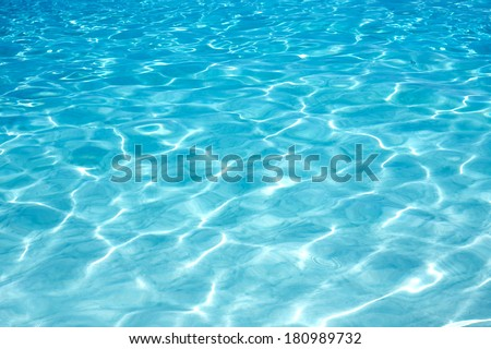 Shining blue water ripple background #180989732