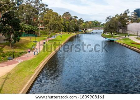 Parramatta Park and river near Sydney, NSW Australia #1809908161