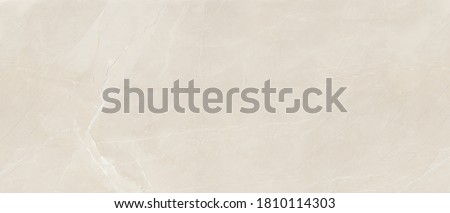 Beige Marble Texture Background, High Resolution Italian Slab Marble Stone For Interior Abstract Home Decoration Used Ceramic Wall Tiles And Granite Tiles Surface. Royalty-Free Stock Photo #1810114303