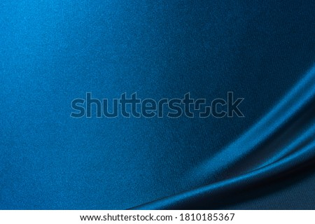 Luxury smooth elegant blue silk fabric texture as background Abstract background Royalty-Free Stock Photo #1810185367