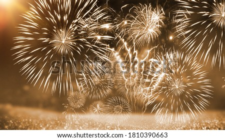 Fireworks for new year celebration,background picture of fireworks