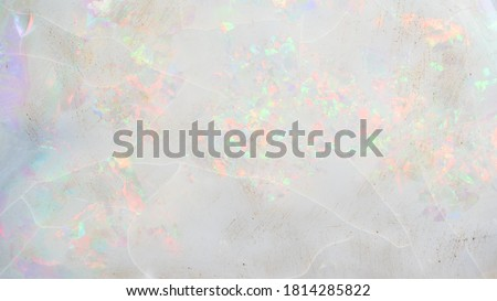 White Opal background and texture