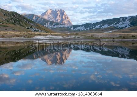 Campo Imperatore and the Gran Sasso massif Gran Sasso National Park Abruzzo Italy #1814383064