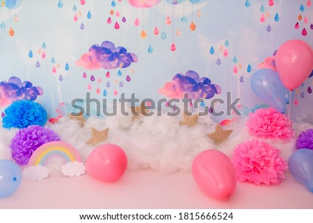 Digital backdrop background for photography Royalty-Free Stock Photo #1815666524