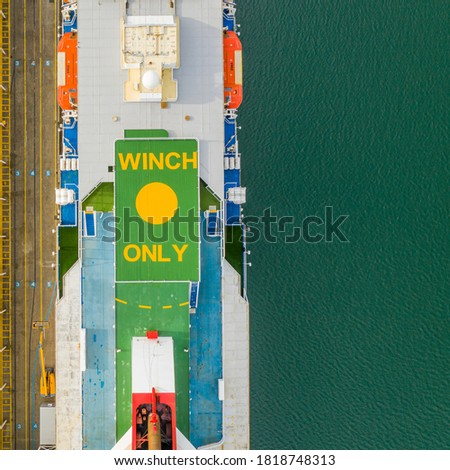Cruiseship from the top in Australia