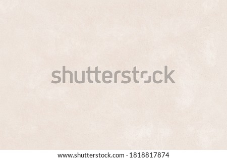 White beige paper background, blank copy space. Kraft beige texture, backdrop and wallpaper. Royalty-Free Stock Photo #1818817874