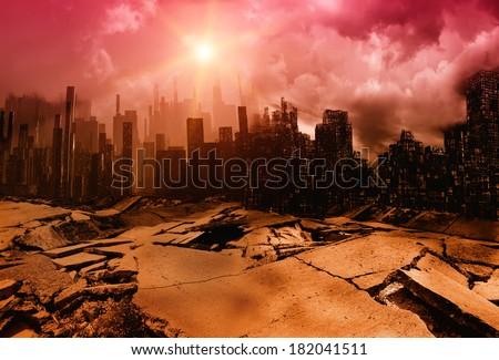 Earthquake Royalty-Free Stock Photo #182041511