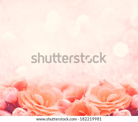 spring pink flower background