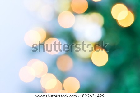 Christmas holiday bokeh. Defocused bokeh lights background  Royalty-Free Stock Photo #1822631429
