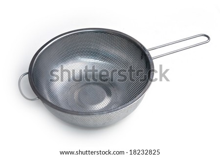 Stainless colander #18232825