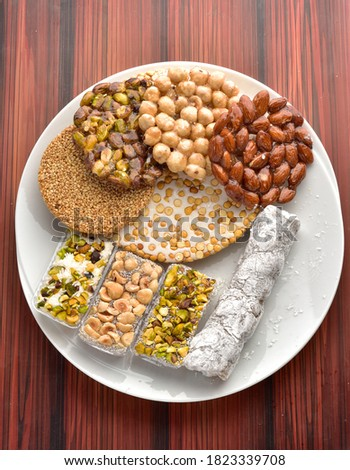 Sweetness of the Prophet's birthday Al Mawlid Al Nabawi Traditional Sweets EGYPT Egyptian Traditional Sweets of Prophet Muhammad Birthday Celebration Eastern sweets #1823339708