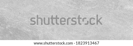 Modern grey paint limestone texture background in white light seam home wall paper. Back flat subway concrete stone table floor concept surreal granite panoramic stucco surface background grunge wide Royalty-Free Stock Photo #1823913467