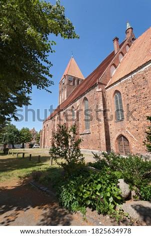St. Mary's Church, Grimmen, Mecklenburg-Western Pomerania, Germany Royalty-Free Stock Photo #1825634978