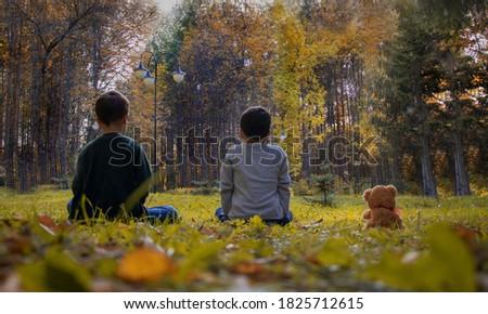 autumn children Golden autumn leaf fall autumn photo shoot photo shoot