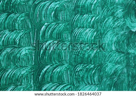 Green paint texture background wallpaper. Textured design layer for graphic and web design purposes.  #1826464037