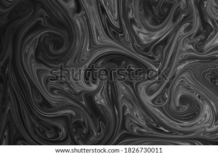 Liquify Swirl Blue Color Art Abstract Pattern,Creative design templates for product smartphone web and mobile applications Royalty-Free Stock Photo #1826730011
