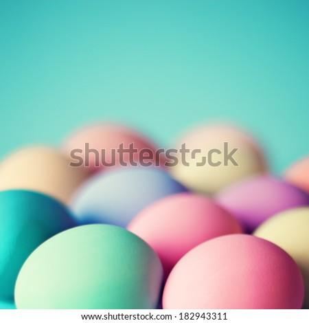 Pastel Easter Eggs #182943311