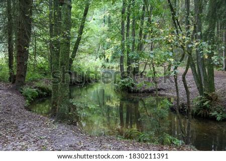 Este River in Lower Saxony, Germany #1830211391