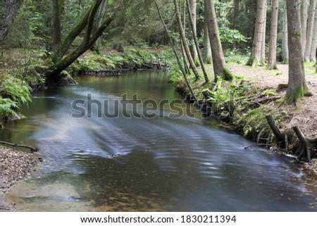 Este River in Lower Saxony, Germany #1830211394