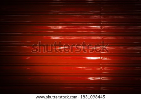 Vignette Images background, Metal backdrop, Surface zinc sheet in spotlight for Product showcase, zinc alloy, galvanized wall red sheet, aluminum sheet, temporary wall, galvanized roofing sheet.
