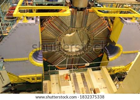 Atom smasher machine in a laboratory #1832375338