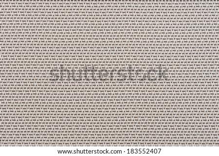 Embossed vinyl texture closeup texture background. #183552407
