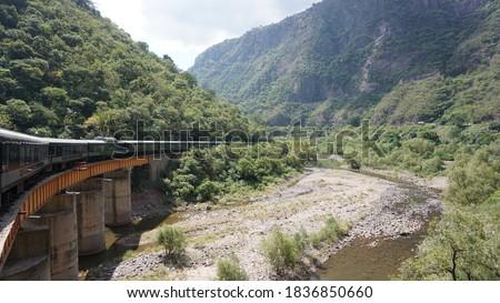 Landscapes from the chepe train, sierra tarahumara, Chihuahua, Mexico