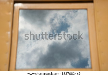 cloud formation in the sky, a weather phenomenon in meteorology