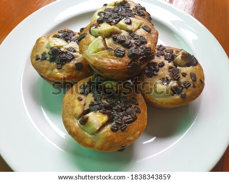 Chocolate muffins and bakery pictures
