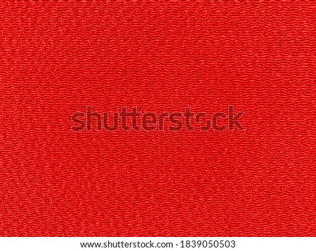 Red crepe of traditional Japanese fabric Royalty-Free Stock Photo #1839050503