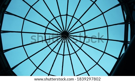 Design of a glass roof