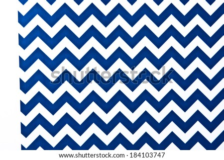 Blue and White Zigzag Textured Background pattern.