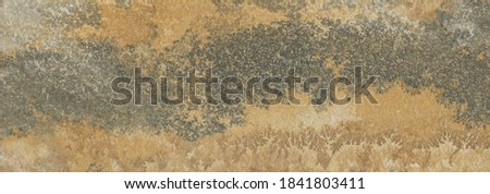 Rustic natural stone encrusted with pyrulosite dendrites crystals.Texture stone. Royalty-Free Stock Photo #1841803411