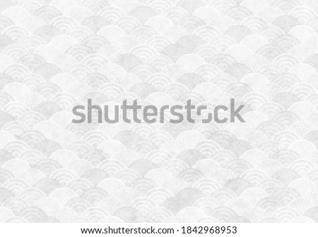 White texture of Japanese paper Royalty-Free Stock Photo #1842968953