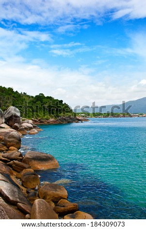 View from Barra da Lagoa - Florianopolis - Brazil. #184309073
